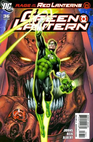 Cover for Green Lantern #36