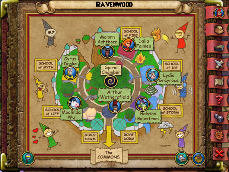 Map WC Ravenwood