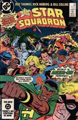 Cover for All-Star Squadron #39