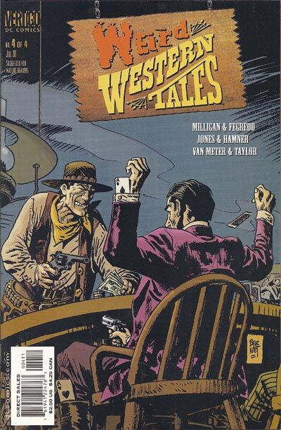 Cover for Weird Western Tales #4