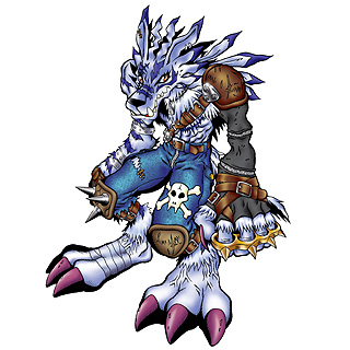 WereGarurumon b