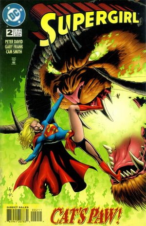 Cover for Supergirl #2