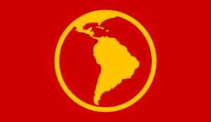 Latin America flag