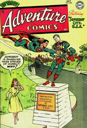 Cover for Adventure Comics #202