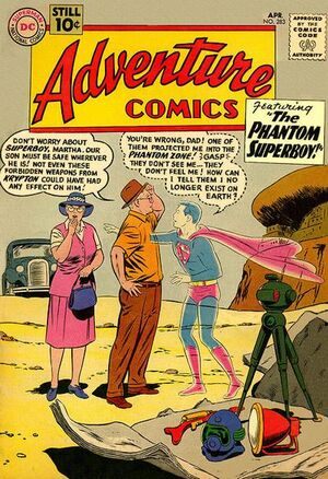 Cover for Adventure Comics #283