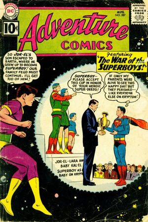 Cover for Adventure Comics #287