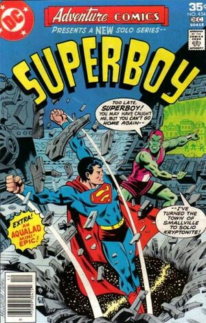 Cover for Adventure Comics #454