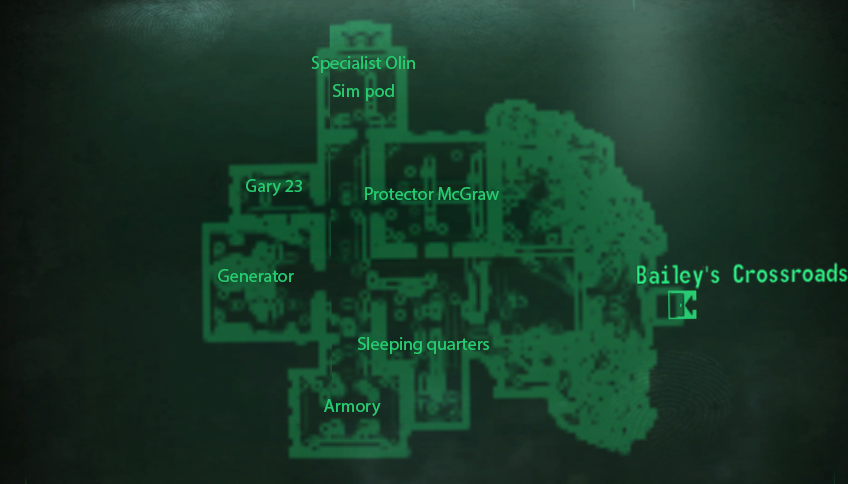 Outcast Outpost map