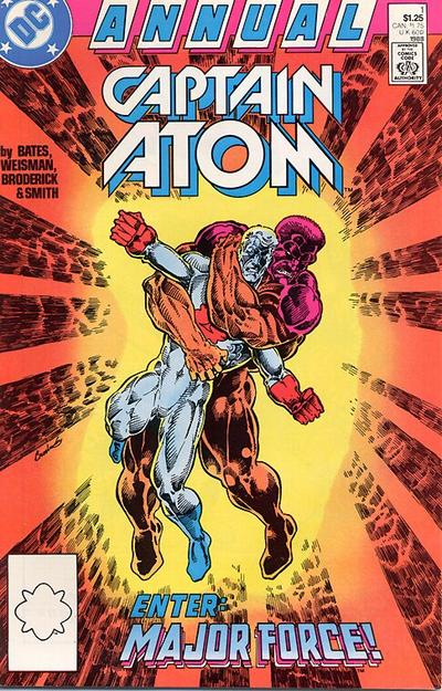 Cover for Captain Atom Annual #1