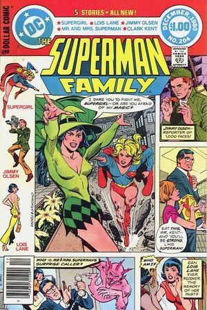 Cover for Superman Family #204