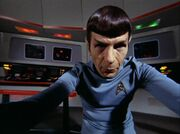 Spock from Chekov's viewpoint