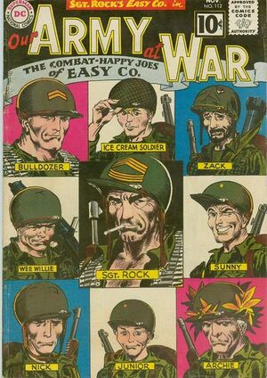 Cover for Our Army at War #112