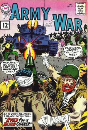 Cover for Our Army at War #113