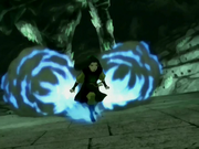 Azula&#39;s blue fire jets