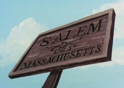 Salem town sign