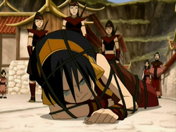 Toph captured