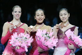 2008 WC Ladies Podium