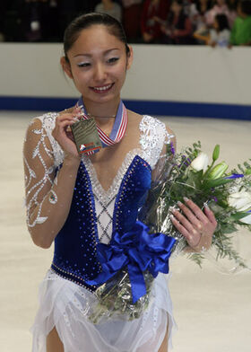 Miki Ando Podium 2008 Skate America