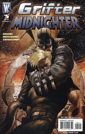 Cover for Grifter and Midnighter #5