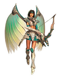 Legend of Dragoon- Shana- White Silver Dragoon