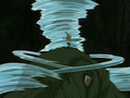 Aang fights Swamp Monster.png