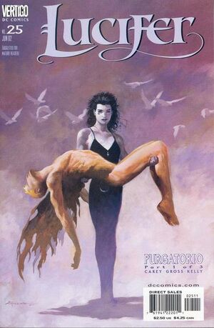 Cover for Lucifer #25