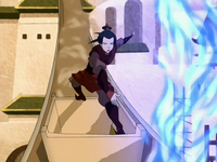 Azula in Omashu