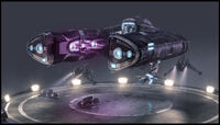 Halo Wars Spirit Dropship