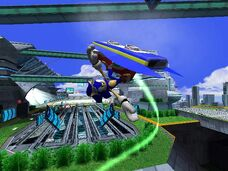 Sonic riders metal city
