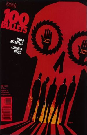 Cover for 100 Bullets #98
