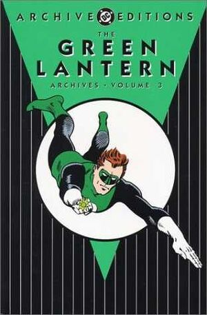 Cover for Green Lantern Archives #3