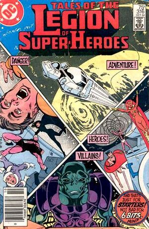 Cover for Legion of Super-Heroes #316