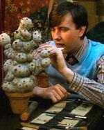 Neville Longbottom showed his interest in Herbology