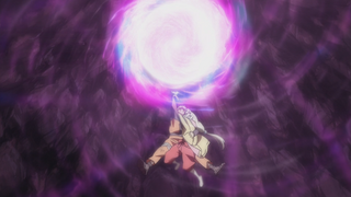 Naruto Shion Super Rasengan