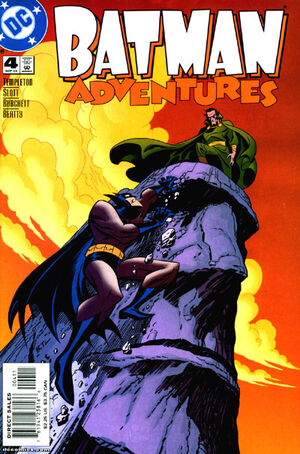 Cover for Batman Adventures #4