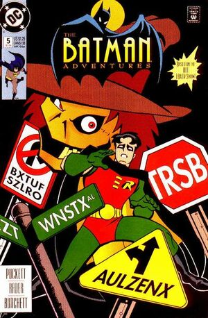 Cover for Batman Adventures #5