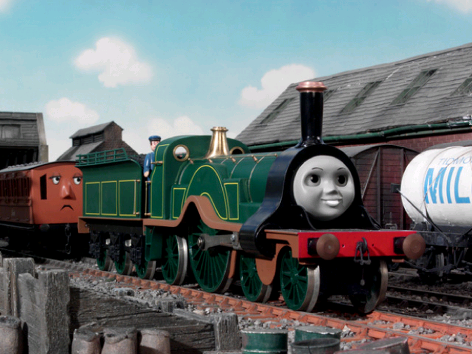 Duck and Oliver's Crazy Great Western Adventures: It's Thomas, but with a twist. Emily