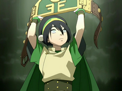 Toph&#39;s Champion&#39;s belt