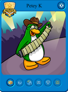 Club Penguin Charaters 136px-Petey_k_card