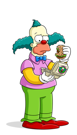 krusty the clown the simpsons