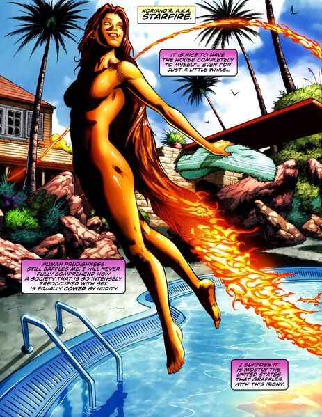 Random cool facts that deal with the titans. - Page 10 463px-Starfire_Titans_01