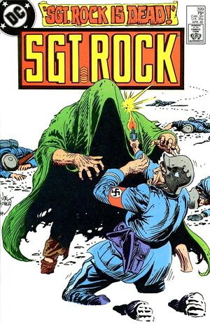 Cover for Sgt. Rock #399