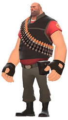 Team fortress 2 heavyguy side
