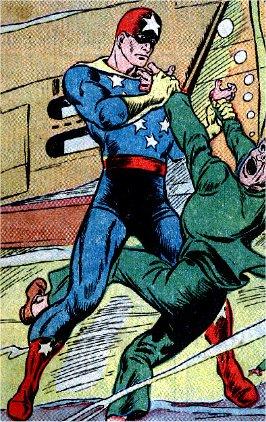 Captain Freedom Public Domain Super Heroes