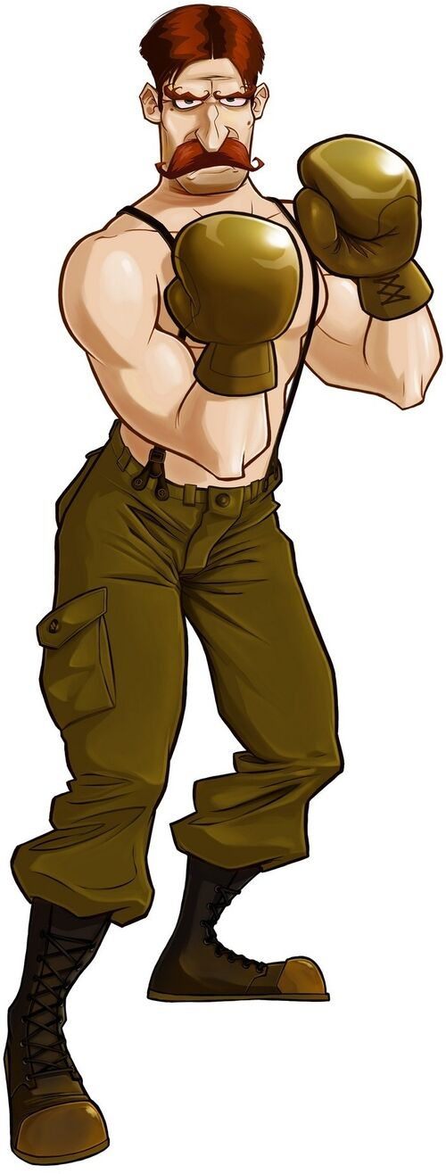 Von kaiser the punch out wiki punch out characters for What is a punch out list