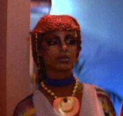Teresa Sloan, bar patron, Star Trek III