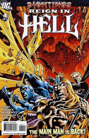Cover for Reign in Hell #4
