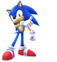 Sonic pose 74
