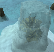Monster in ice