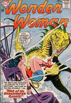 Cover for Wonder Woman #146